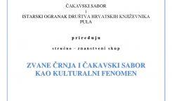 ZVANE ČRNJA I ČAKAVSKI SABOR KAO KULTURALNI FENOMEN